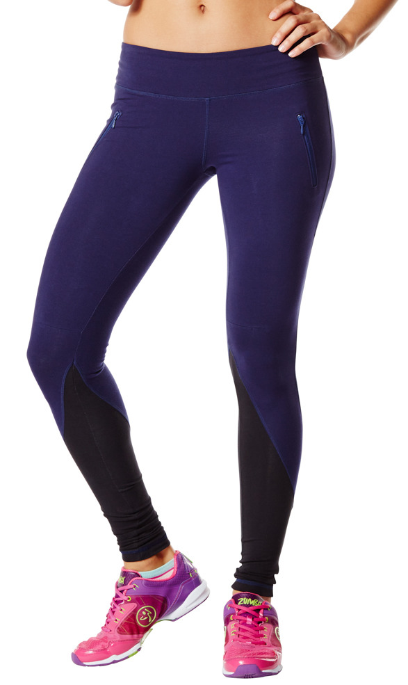Double Zipper Leggings
